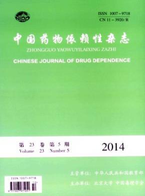 中國藥物依賴性